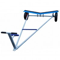 Mirror Trolley With GRP Moulded Cradle