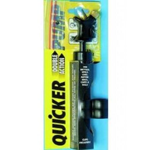 Quicker Double Action Pump