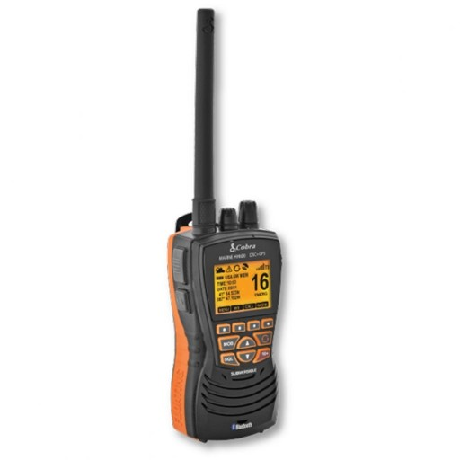 Cobra Marine HH600E DSC Floating VHF Radio with GPS and Bluetooth