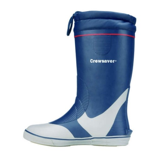Crewsaver Long Rubber Boots - Navy
