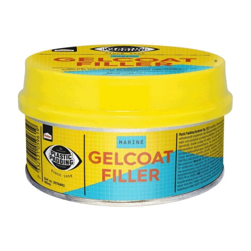 Plastic Padding Gelcoat Filler 180ml Tin