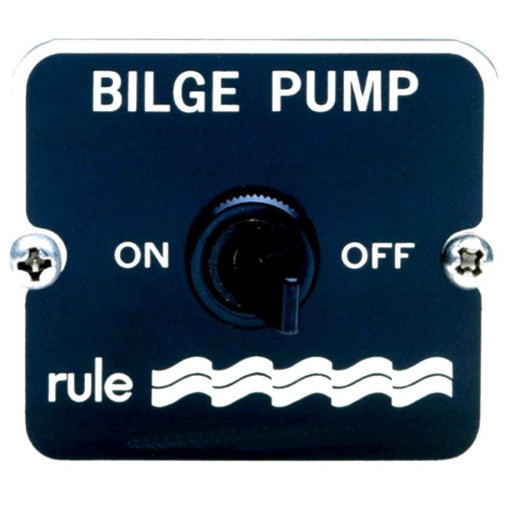 Rule 2-Way Panel Switch 12/24 volt DC
