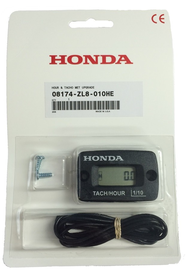 honda dual function hour  tacho meter honda inflatables inflatables boats engines