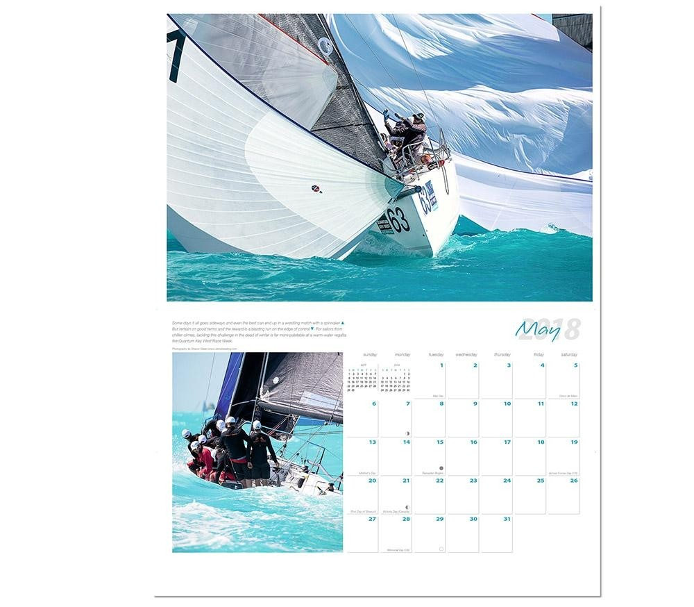 May Calendar Book : Harken ultimate sailing calendar calendars media