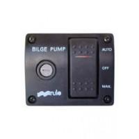 Rule 3 Way Bilge Pump Rocker Switch