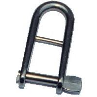 6mm Halyard Key Shackle - Stainless Steel
