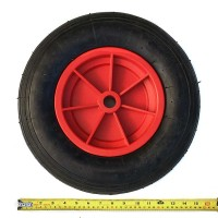 "Pneumatic Trolley Wheel 16""x4"""