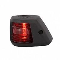 Port Navigation Light - 12V - Side Mounting - Black Housing - Aqua Signal Series 20