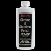 Star brite Chrome & Stainless Steel Polish 250ml
