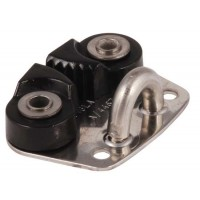 Mini Cam Cleat - Alloy Jaws and Base Fairlead