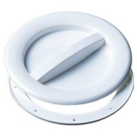 Allen Hatch Cover 102mm White