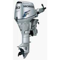 Honda 30HP 4-Stroke Short Shaft Electric Start Tiller Handle Outboard