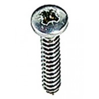 4.2 x 25mm Pan Head Pozi S/S Self Tappers 10 Pack