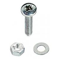 M5 x 12mm Pan Head Pozi S/S Machine Screw 4 Pack
