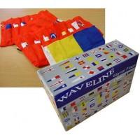 Waveline Complete Box Set of 40 Signal Flags & Pocket Holder