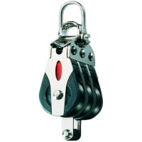Ronstan Series 20 Triple Block Becket With 2 Axis Shackle Head