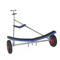 Albacore Launching Trolley - Twin GRP Cradles