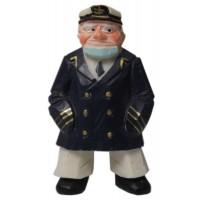 Captain Fridge Magnet