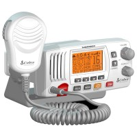 Cobra F57W Fixed Mount VHF Marine Radio White