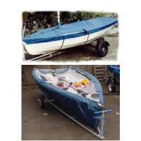 RS200 Boat Cover Flat (Mast Up) PVC