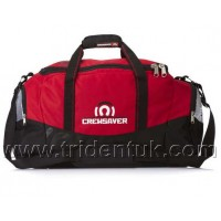 Crewsaver Crew Holdall Black Red 100 Litres