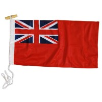 Red Ensign Flag 70x35cm (3/4 Yard)