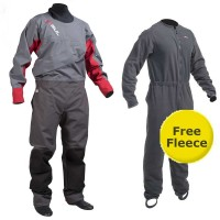 Gul Dartmouth Mens Eclip Zip Drysuit with Free Fleece