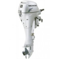 Honda 8HP 4-Stroke Long Shaft Electric Start and Remote Control Outboard Engine