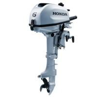 Honda 6HP 4-Stroke Long Shaft Outboard with 6 Amp Charging Coil
