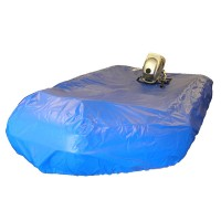 Inflatable Dinghy Cover Max Length 2.40m