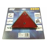 Maypole Red Reflector Triangle - 2 Pack