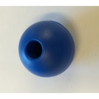 Parrel Bead (Rope Stopper) - 32mm - Blue