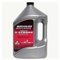 Quicksilver Premium 2-Stroke Outboard Oil - TC-W3 - 4 Litres