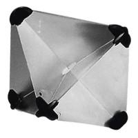 Foldable Aluminium Radar Reflector (215x215mm)