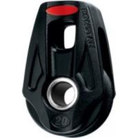 Ronstan Series 20 Orbit Single Lashing Block - Becket Option