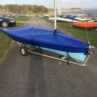 RS200 Boat Cover Flat (Mast Up) PVC