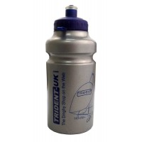 Trident Water Bottle Silver