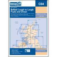 Imray Chart North Channel Belfast Lough to Lough Foyle and Crinan C64