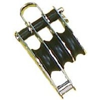 Sea Sure Triple Block 25mm With Becket And Shackle Head