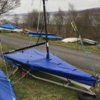 29er Boat Cover Flat (Mast Up) PVC
