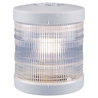 360º White Navigation Light - 12V - Deck Mounting - White Housing - Aqua Signal Series 25 Standard