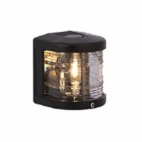 Masthead Navigation Light - 12V - Side Mounting - Black Housing - Aqua Signal Series 25 Standard