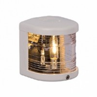 Masthead Navigation Light - 12V - Side Mounting - White Housing - Aqua Signal Series 25 Standard