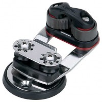 Harken Swivel Base with Micro Cam & 16 mm Sheaves