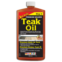 Star brite Premium Golden Teak Oil - STEP 3 1000ml