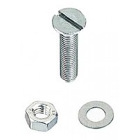 M10 x 50mm Countersunk S/S Machine Screw 2 Pack