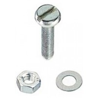 M10 x 50mm Pan Head S/S Machine Screw 2 Pack