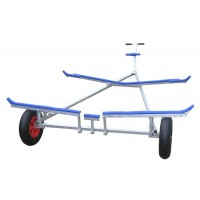 Small Inflatable Dinghy Launching Trolley