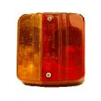 Rear Trailer Light Cluster - 100mm Square