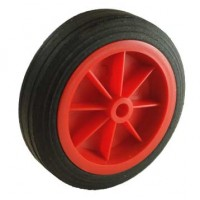 160mm Red Solid Wheel